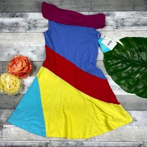 Stephen Burrows Target XXO colorblock dress